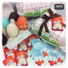 Easter tags made by Sabbò Emporio e Design - Brazil