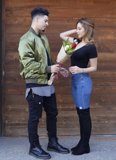 When did austin mcbroom and catherine paiz start dating