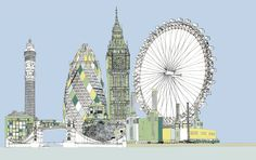 London. © 2013 Zanna Designs.  http://www.etsy.com/shop/DesignsByZanna