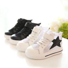 Spring Autumn Children Shoes Mesh Sneakers Child Kids Girls Boys Casual Sport  Running Shoes Sneakers S1436 alishoppbrasil