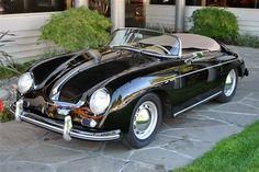 1956 Porsche 365A Speedster.  On of my favorite cars!