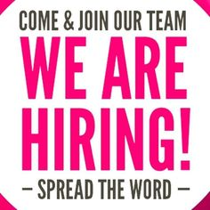 Capelli Hair & Beauty Salon urgently need to hire part/full time experienced Hai. Now Hiring Sign, We Are Hiring, Work From Home Opportunities, Work From Home Jobs, Stylist Chair, Damsel In Defense, Barber Shop Decor, Help Wanted, Join Our Team