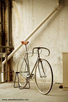 #wearefactoryfive - a Shanghai based fixed gear boutique. #fixie #bike #retro