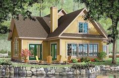 Journey's Edge Panoramic view cottage, 2-car garage, 3 to 4 bedrooms, ensuite with french doors - W2603