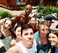 Joshua Ovenshire @TheJovenshire. Squad goals achieved! Had a group trip for Smosh Summer Games. How are we gonna top this next year?! #CampSmosh
