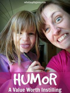Simple ways of instilling humor in kids. Such a fun post. I love my kids' senses of humor!
