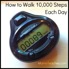 How to Walk 10000 Steps Each Day