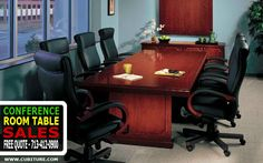 Conference Tables Houston TexasConference Tables The conference table is the central focus of meeting room design.  No matter how large a meeting room is, it is inescapably designed for a limited number of people.  While it may be a place where information is dispensed, it is primarily a place for making decisions in a focused, collaborative environment.#conferencetables,#conferenceroomfurniturehouston