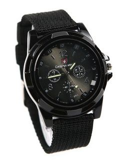 awesome Sport Style Military Army Pilot Fabric Strap Sports Men Watch 4 C Noj3pg-black - For Sale Check more at http://shipperscentral.com/wp/product/sport-style-military-army-pilot-fabric-strap-sports-men-watch-4-c-noj3pg-black-for-sale/