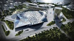 El Resort Montaña Dawang en China se abrirá en 2016. Entre otras virtudes, sobresale la inclusión de un complejo de actividades invernales, un circuito de esquí bajo techo, un parque acuático y jardines colgantes. Como se puede ver, se trata de una verdadera obra de arte.