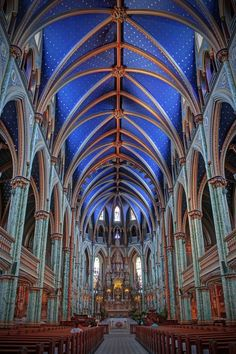 Notre Dame Cathedral Basilica by ● Kirill ● Mourzenko ● - Photo 215084733 / 500px