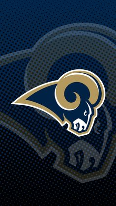 La Rams Football, Nfl Rams, Football Team, Nfl Logo, Sports Logo, Sports Teams, Ram Wallpaper, Nfc West, Nfl Championships