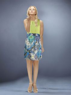 Sleeveless Chiffon Mini Dress by Umgee USA - So Cute!