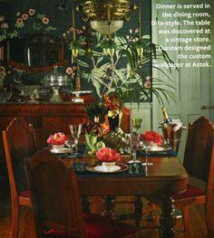 HOME & GARDEN: La maison de Dita Von Teese
