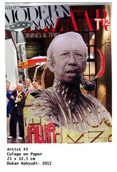 Soedjojono, leader of Indonesian modern art