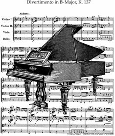 Make something like this with some of my sheet music and Graphics Fairy graphics.