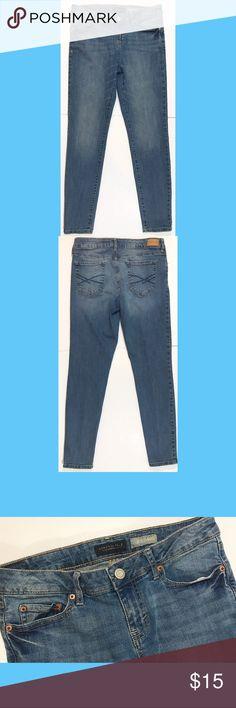Aeropostale Skinny Jeans Aeropostale skinny jeans, light wash denim. Worn once. Aeropostale Jeans Skinny