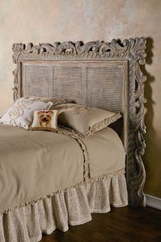 oh the places ill go Rouleau Caned Headboard - Caned Headboard, Patina Headboard Home Bedroom, Bedroom Furniture, Bedroom Decor, Cane Furniture, Furniture Online, Bedroom Themes, Furniture Outlet, Furniture Stores, French Country Bedrooms