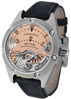 Buy Nord Zeitmaschine Variocurve Watches at Exquisite Timepieces, we are Authorized Dealers Dream Watches, Fine Watches, Luxury Watches, Cool Watches, Watches For Men, Men's Watches, Aftershave, Beautiful Watches, Fashion Watches