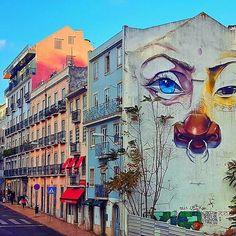 Awesome shot from @dc_lisboa -  Street art 👍 #street #art #lisboa #lisbon #places #assembleiadarepublica #assembleia #republica #streetart #graffiti #urbanart #urban #eyes #sunnyday #lisbonlive #super_lisboa #visitlisboa #lisbonpostcards #lisbonportugal #picoftheday #picofday #photo #photography #instacity #instaplaces #instaphoto #instaart #citylife #livelife