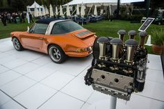 Singer Vehicle Design's New 4.0L Flat Six Engine Is A Work Of Art - Petrolicious