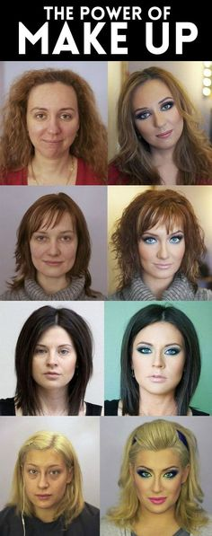 The great power of makeup