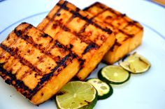 Sweet, Sour, and Spicy Grilled Tofu