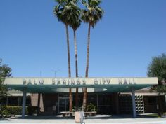 Palm Springs City Hall designed by Albert Frey in 1952.