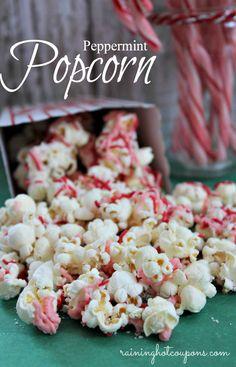 Peppermint Popcorn via @Raining Hot Coupons
