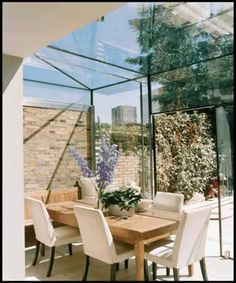 Almost outdoor living - great narrow joins makes this a very delicate option.