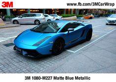 3M Scotchprint Wrap Film 1080 Matte Series #3M1080 #3M 1080-M227 Matte Blue Metallic #ISSMART #paintisdead #carwrap #carwrapping