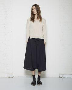 Yohji Yamamoto / Gather Pants