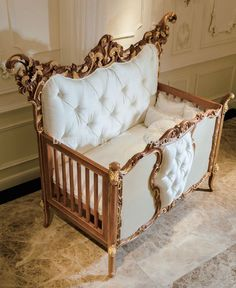 french style baby furniture. Antique Rococo Beech Wood Customized New Born Baby Bed, Handmade Carving Large Angel Wings Adult Crib - French Style Furniture