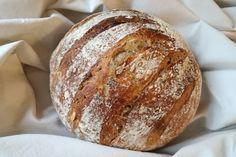 Zemiakový kváskový chlieb – novak´s notes Food And Drink, Bread, Notes, Baking, Report Cards, Brot, Bakken, Notebook, Breads
