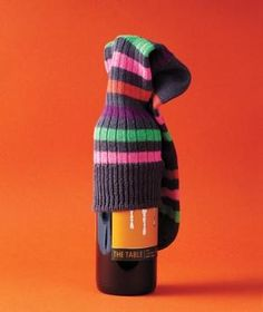 Keep bottles from clanking while getting to camp with the lost socks