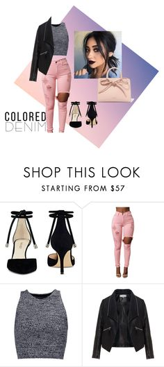 Designer Clothes, Shoes & Bags for Women Colored Denim, Alice Olivia, Nine West, Shoe Bag, Polyvore, Stuff To Buy, Shopping, Shoes, Collection
