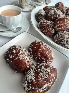 Donut Recipes, Baking Recipes, Cookie Recipes, Dessert Recipes, Baking Desserts, Easy Desserts, Kos, Malay Food, Sour Cream