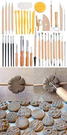 Soft Rib for Pottery /& Pottery Clay Pack of 2 Ceramic Clay Tools for Sculpting Very Soft Pottery Tools Smooths /& Shapes While Removing Finger Marks Red Shaping Tool for Pottery
