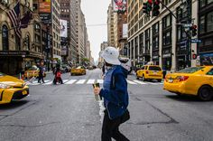 Discovering NY - walking in New York