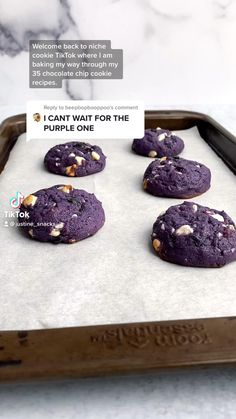 Fun Baking Recipes, Sweet Recipes, Cookie Recipes, Dessert Recipes, Blueberry Cookies, Chocolate Chip Cookies, White Chocolate Chips, Delicious Desserts, Yummy Food
