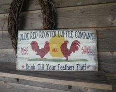 Country home decor kitchen signs wood by mockingbirdprimitive