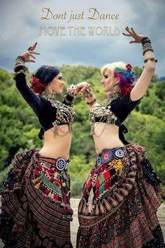 6259ce7db9a0 Danse Tenue Tribale, Danse Orientale Tribale, Danse Folklorique, Tzigane,  Danse Du Ventre