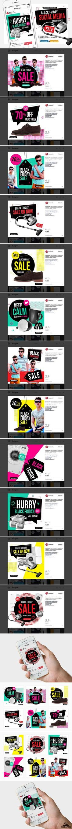 CM - Black Friday Social Media Templates 1955381