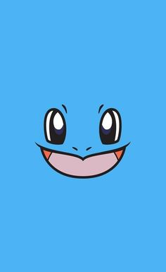 Squirtle minimalist iPhone 6 wallpaper