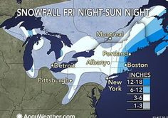 Snow 'hurricane' to lash New England this weekend