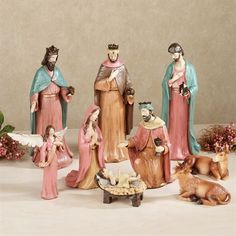 Perfect Child of Heaven 9 pc Nativity Set