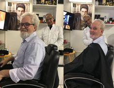 Oldest barber in Bokaap is here to make you look years younger💈 Barbers Cut, Moroccan Oil, Hair Designs, Barber Shop, Shaving, Gentleman, Hair Cuts, Hair Beauty