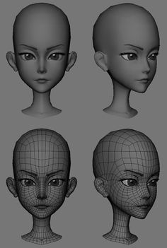 Cartoon Faces, 3d Cartoon, Cartoon Design, Character Modeling, 3d Character, 3d Modellierung, Face Topology, Maya Modeling, Mode 3d