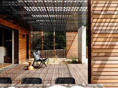patterned architecture creates gorgeous shadows