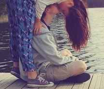 Couple (Kiss) Photography - Teenagers